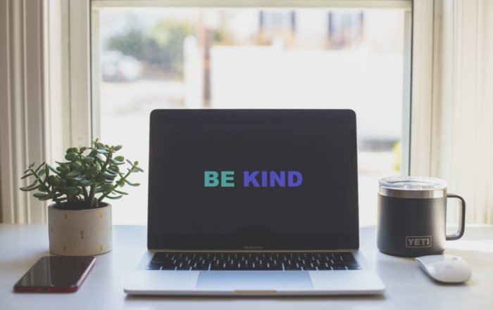 Be Kind graphical image